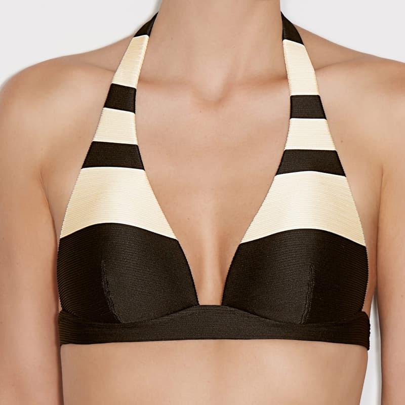 Sujetador bikini triángulo. Sara