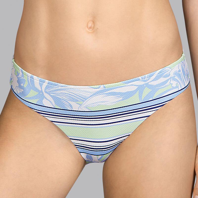 Elegante braga bikini de talle normal con textura de piqué. Power. Andrés Sardá. 3409050