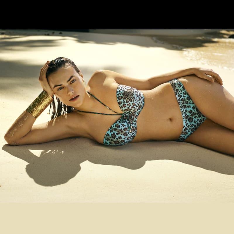 Sujetador bikini bandeau. Samba
