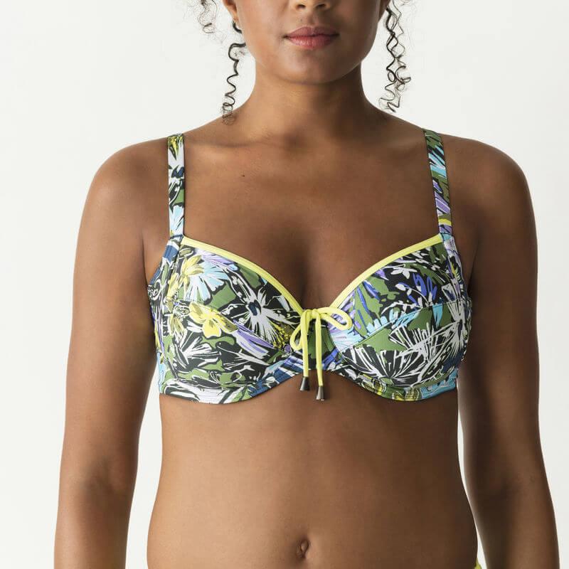 Sujetador bikini con aros Primadonna. Pacific beach. 4005810