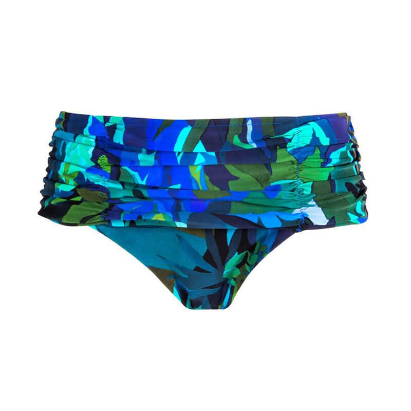 Braga bikini de talle alto. Aquarelle Nautique