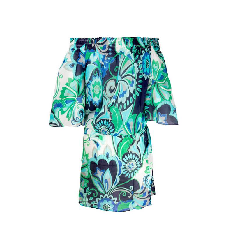 Vestido de playa túnica. Sari Bijou