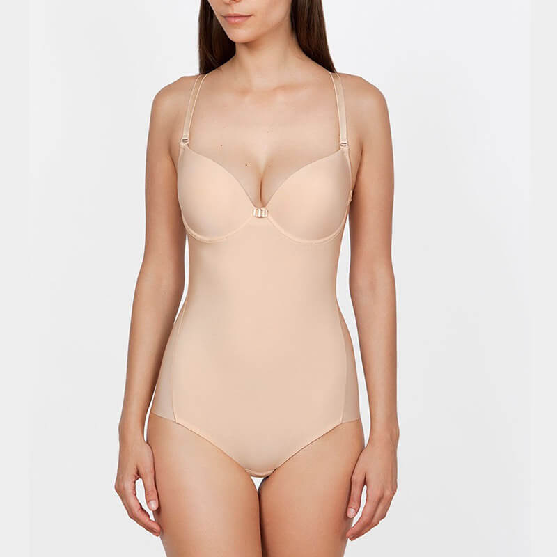 Body push up y escote de espalda novia. Ivette. Second skin.38030