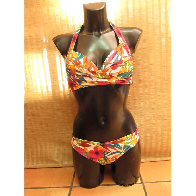 Conjunto bikini. Aubade. CR10. Multicolor