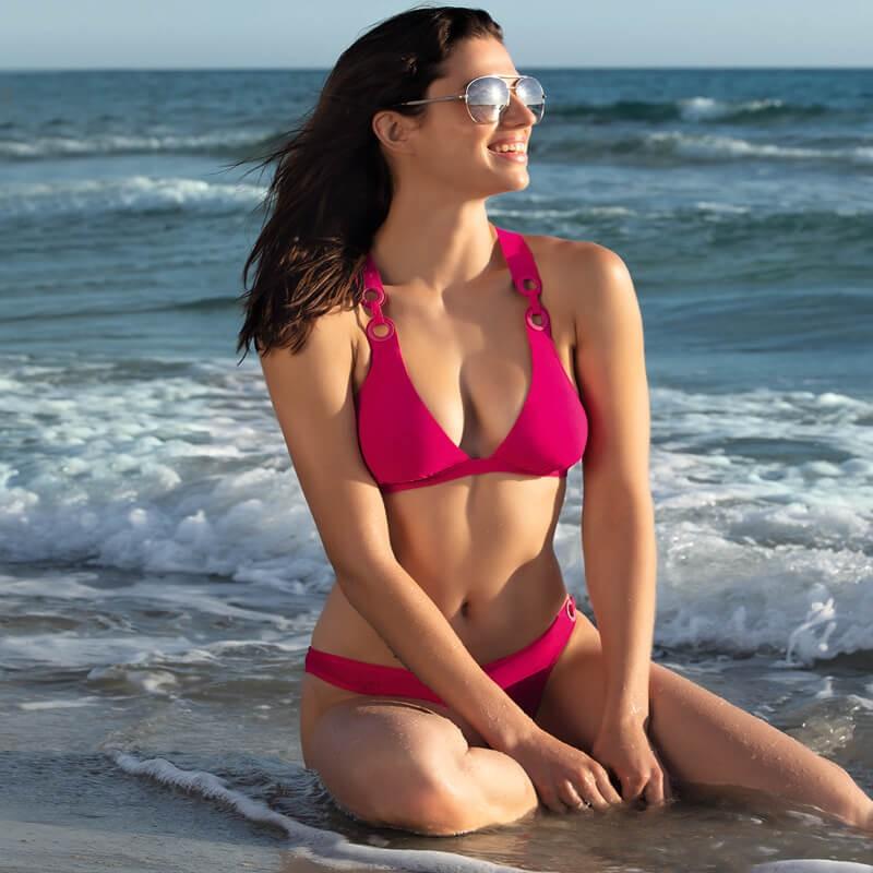 Braga bikini de talle bajo LiseCharmel. Jeux D Anneaux. ABA0431