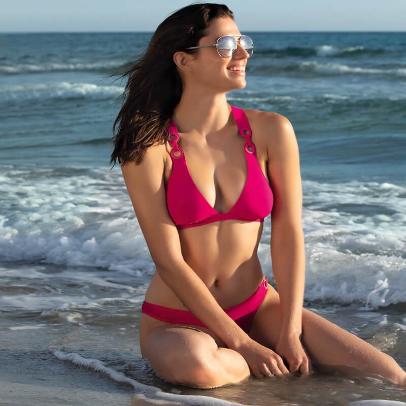 Sujetador bikini triángulo LiseCharmel. Jeux D Anneaux.ABA2031