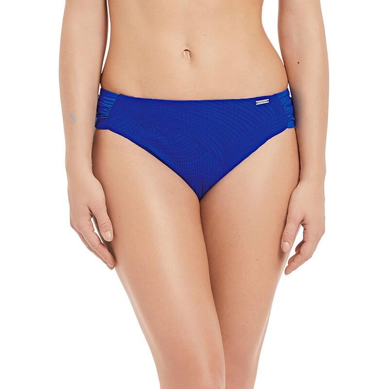 Braga bikini de talle normal con frunces laterales. Ottawa