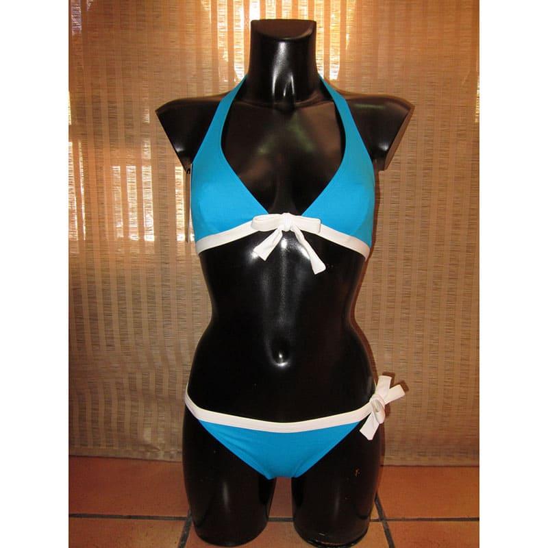 Conjunto bikini.Kuny. Azul