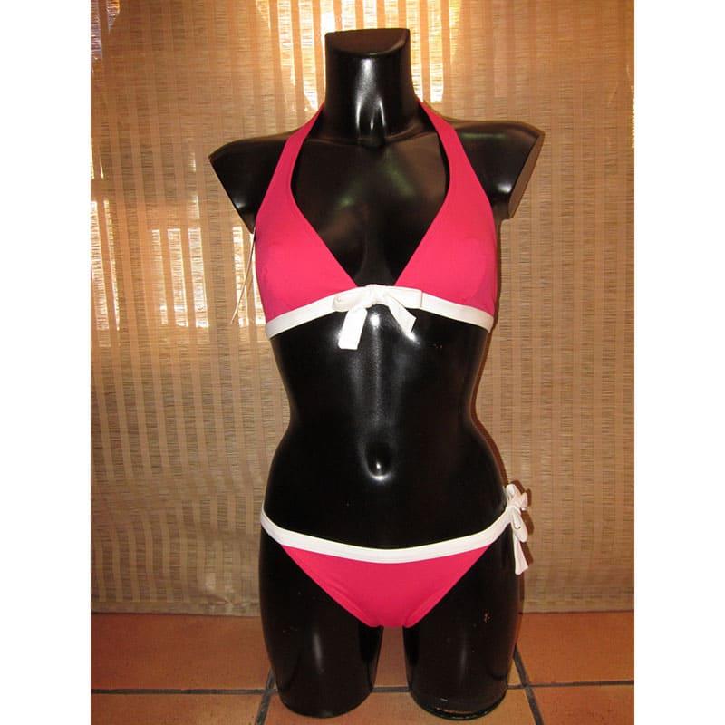 Conjunto bikini.Kuny. Rosa