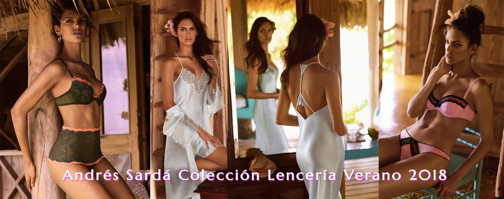 Andres Sarda coleccion Verano 2018